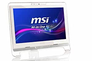 MSI AE1921-429EU 18.5 inch All-in-One Desktop PC (Intel Atom D525 1.8GHz Processor, 2GB DDR3 RAM, 320GB HDD, Touch Screen, 6-in-1 Card Reader, USB 2.0, Wi-Fi, Windows 7 Home Premium)