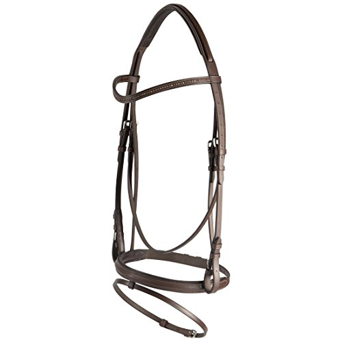 RTS 1524-130-PONY Filet d'equitation Mixte Adulte, Marron, Poney