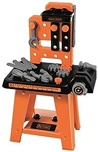 Taller de bricolaje de Black&Decker con 27 accesorios (Ecoiffier 2305)