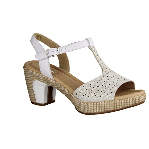 Gabor 42.730.50, Sandali donna Bianco (bianco)