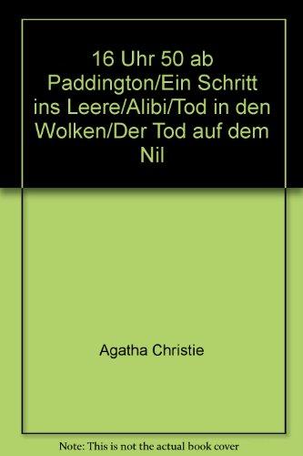 16 Uhr 50 ab Paddington/Ein Schritt ins Leere/Alibi/Tod in den Wolken/Der Tod auf dem Nil (Uhr Leere)