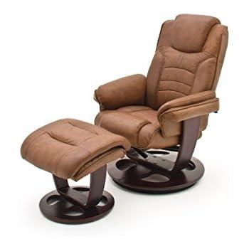 Good Robas Lund Relaxsessel Pasadena Mit Hocker Leder Braun 79 X 85 X 105 Cm  64071BK1 Nice Design