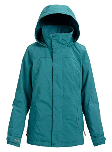 Burton Damen Jet Set Snowboard Jacke, Balsam Heather, XL -