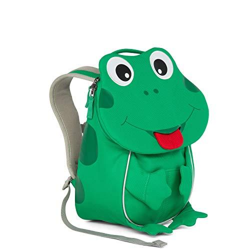(Affenzahn Kinder-Rucksack mit Brustgurt Finn Frosch für 1-3 Jährige Jungen und Mädchen im Kindergarten oder Kita der Kleine Freund)