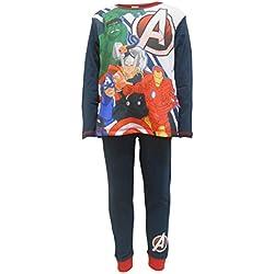Marvel Avengers Pijamas de algodón para niños 9-10 años