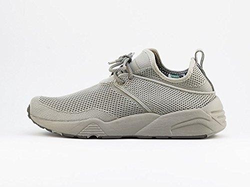 Puma X Stampd Trinomic Woven Herren Sneaker Schwarz Steel Gray