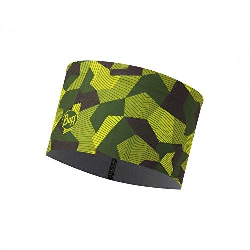 Original Buff 115382.845.10.00 Headband, Hombre, Verde, Talla Única