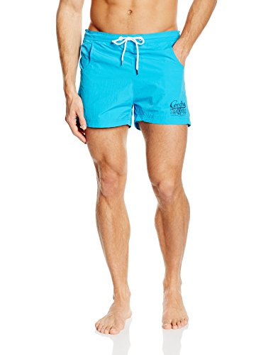 Ceceba - Badeshorts Kurz, Pantaloncini Uomo Blau (blue danube 5063)