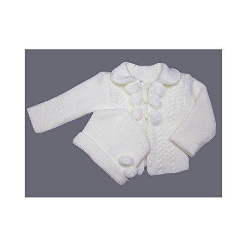 Poussin bleu - Cardigan et bonnet en tricot acrylique Taille - 12 à 18 mois, 9c4041d5d72