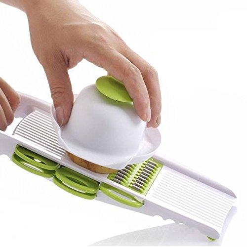 Bazaar 5Pcs / Set Fruchtgemüse-Aktenvernichter-Schredder-Zerkleinerungs-Gerät-multi Funktions-manueller Kartoffel-Scherblock