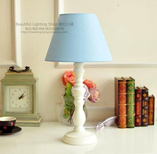 SET Lampe de Table-Chaud Couleur Chambre Lampe de Chevet décoration lumière Bureau Moderne étude lumières,M