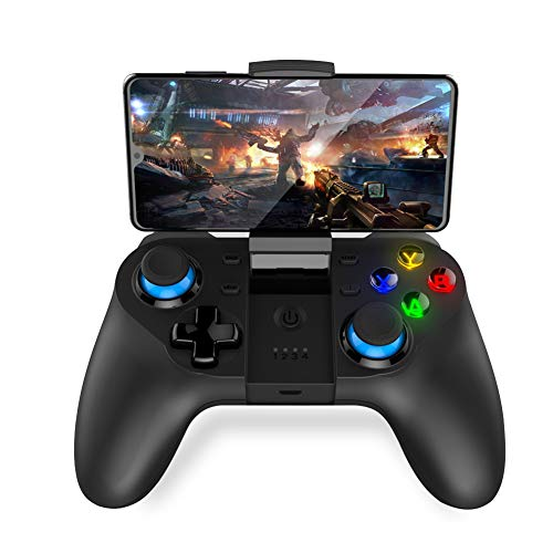 SJZX Controller-Spiel Wireless Gamepad Joystick Turbo Trigger-Tasten - Doppel-wippe-sitz