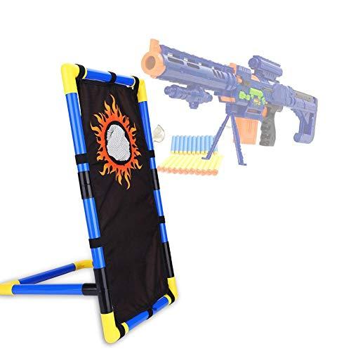 Toy Gun Ziel Zielscheibe für Nerf,Shooting Target Soft Bullet Target Kinder Toy Gun Ziel Schießen Bullet Stand Gun Shoot Dart für Nerf Guns N-Strike Serie Ziele Spielzeug Soft Bullets Blaster (Soft-gun-target)
