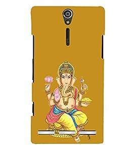 Nextgen Designer Mobile Skin for Sony Xperia SL :: Sony Xperia S :: Sony Xperia SL LT26I LT26ii (Ganesha GAnapathi lord GAnapthi Lord Ganesha Ganesha Idol)