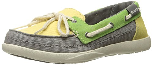 Chaussures Crocs Walu Boat Shoe W Boat Buttercup/Smoke