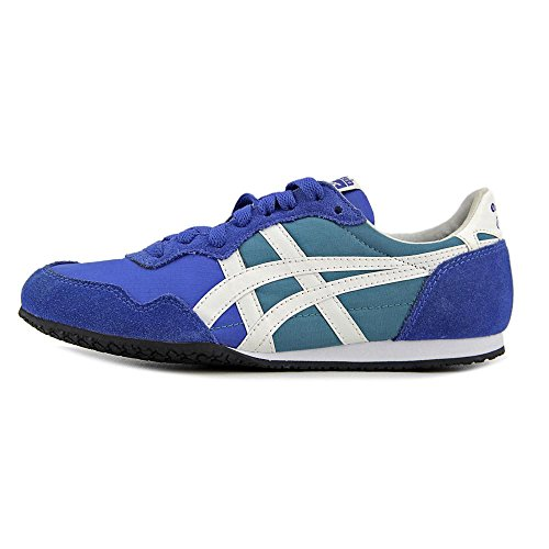 Onitsuka Tiger by Asics Serrano Synthétique Baskets Monaco Blue-White