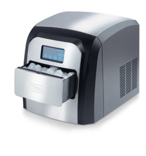 Trebs 99218 - Máquina de hacer hielo con cajón de almacenamiento, ac