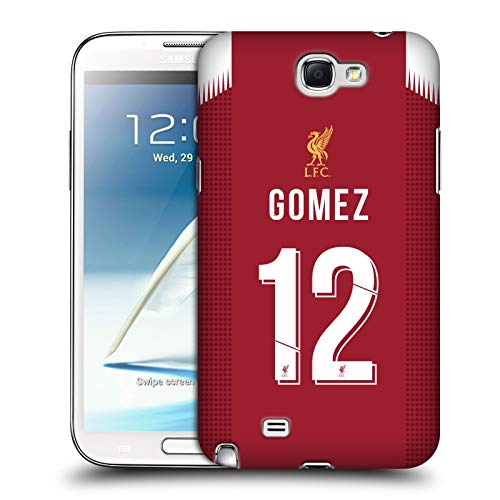 Head Case Designs Ufficiale Liverpool Football Club Joe Gomez 2019/20 Giocatori Home Kit Gruppo 2 Cover Dura per Parte Posteriore Compatibile con Samsung Galaxy Note 2 II N7100