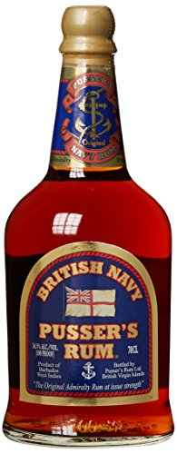 Pusser's British Navy Rum Black Label Gunpowder Proof (1 x 0.7 - San Francisco Honig