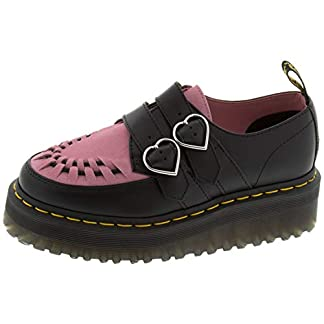 Dr. Martens Women's Lazy OAF Buckle Creepers 6