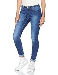 ONLY Damen Skinny Onlcarmen Reg Sk Dnm Jeans Soo1743b Noos