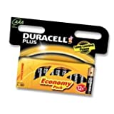 1 X DURACELL 15071702 BATTERY- ALKALINE AAA PLUS 12PK - Pack of 12