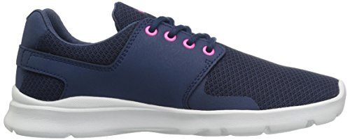 Etnies Scout Xt Wos, Chaussures de Skateboard Femme Bleu (Navy Pink)