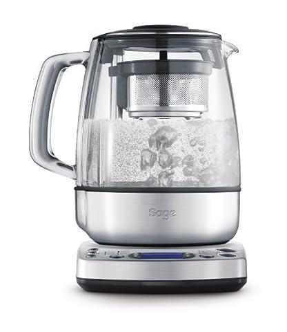 Sage by Heston Blumenthal BTM800UK the Tea Maker with Motorised Tea Basket - Silver