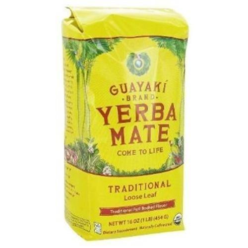 Guayaki Organic Fair Trade Yerba Mate Traditional Blend by Guayaki - Guayaki Yerba Mate