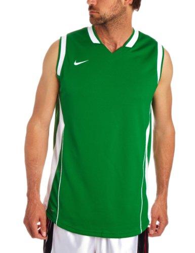 Nike Herren Ärmelloses Basketball-Hemd Pine Green/White XX-Large (Tall x2) -