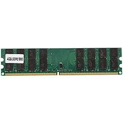 TOOGOO(R) 4GB 4G Arbeitsspeicher DDR2 800MHZ PC2-6400 Memory RAM PC DIMM 240 Pins fuer AMD