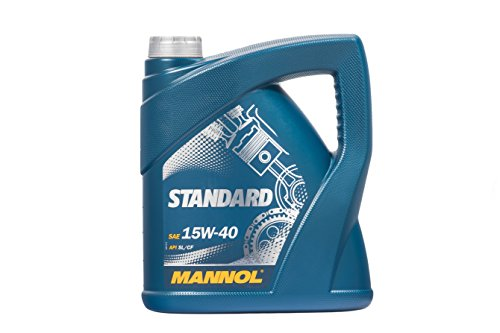 MANNOL Standard 15W-40 API SL/CF Motorenöl, 4 Liter