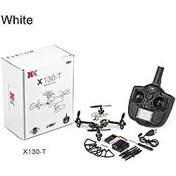 SH-Flying Dron - Mando a Distancia con cámara X130-T, Alloy 4-Axis Aircraft, Modelo pequeño Cross-Drone, Mando a Distancia X130-T, pequeño Dron