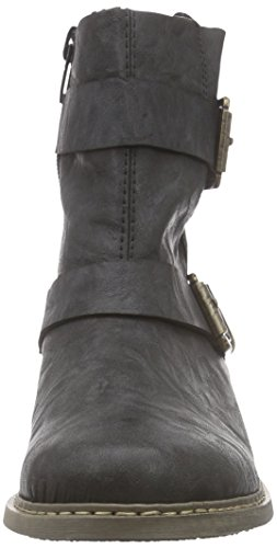 Rieker - Z4172, Stivali Donna Nero (Nero (schwarz / 00))