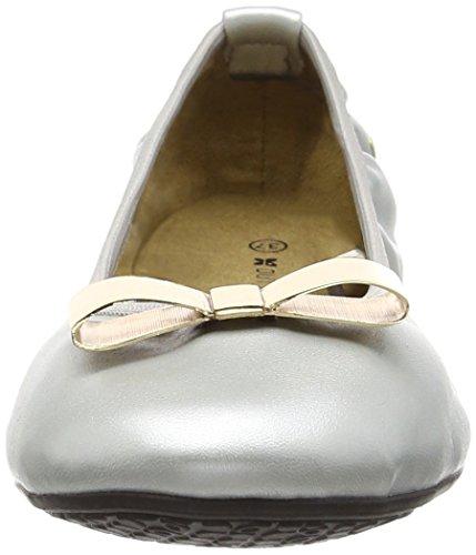 Butterfly TwistsChloe - Ballerine a punta chiusa donna Argento (Argento (Silver))