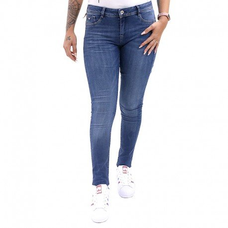 Kaporal Damen Jeanshose blau blau Gr. W27, blau