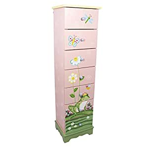 fantasy fields kyw 8987a magic garden schr nkchen mit 7 schubladen baby. Black Bedroom Furniture Sets. Home Design Ideas