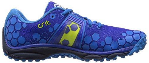 Brooks PureGrit 4, Chaussures de Running Compétition Homme, Surf The Web/Brilliant Blue/Lime Punch Bleu (SurfTheWeb/BrilliantBlue/LimeP)