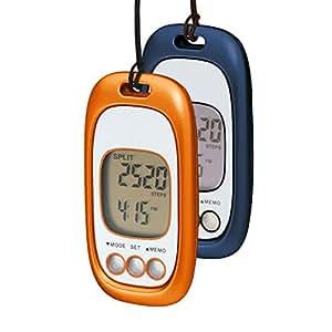 Schrittzähler »Fitty« No. 1 G mit 3G Motion Sensor orangemetallic