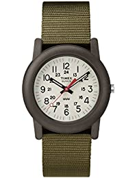 Timex tw2p598009j Camper Unisex tela/nailon correa cuarzo reloj