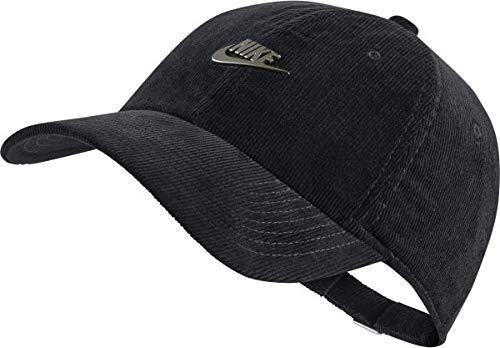 Nike H86 Metall Futura Cord Schirmmütze, Dark Antique Black, One Size -