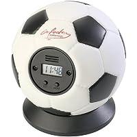 infactory Wecker: Wurfwecker Fußball (Gadget-Wecker)