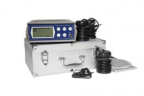 Ion Cleanser deluxe Ionic Spa - Générateur galvano-électrolytique ionisant pour bains de pieds - appareil pro