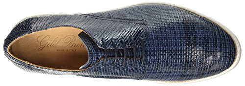 GOLD BROTHERS Glass, chaussures à lacets homme Blu (Avion)