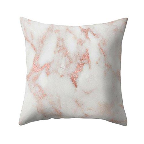 Home Marmor (Minshao Geometrische Marmor Streifen Kissenbezug Car Cafe Sofa Home Dekokissen,45*45CM (E))