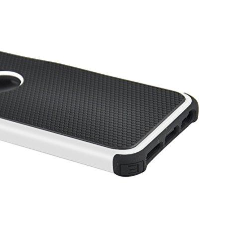 wkae Schutzhülle Case & Cover Fußball Textur Kunststoff Schutzhülle für iPhone 6Plus & 6splus weiß