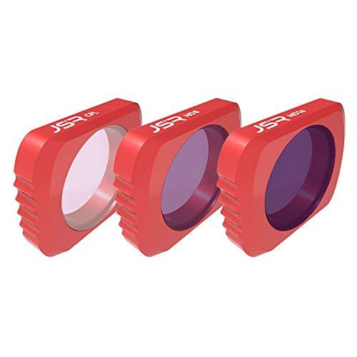 Colorful Für DJI Osmo Pocket Kameralinsenfilter Set, 3Pack Wasserdicht CPL, ND8, ND16 Objektivfilter kompatibel mit DJI Osmo Pocket