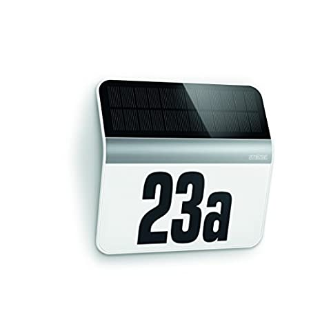 Steinel XSolar LH-N - Illuminated LED house number sign, stainless