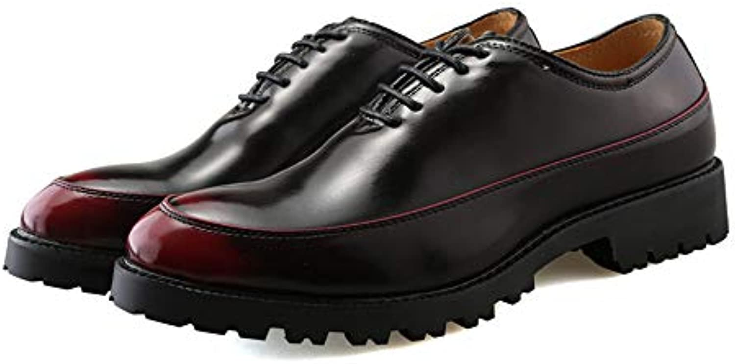 Man's/Woman's Men's Business Oxford Casual Casual Casual Fashion Retro Contrast Color Outsole Patent Leather Formal Shoes Various goods stable quality fine GR18216 f139b9