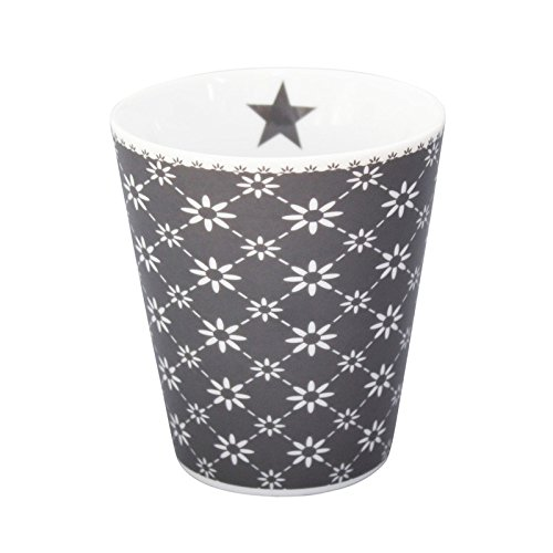 Krasilnikoff Mug Diagonal Charcoal